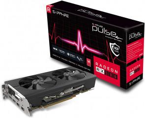 11265-05-20G - Sapphire Radeon Pulse RX 580 8GB GDDR5 Dual HDMI/ DVI-D/ Dual DP OC PCI-E Graphic Card