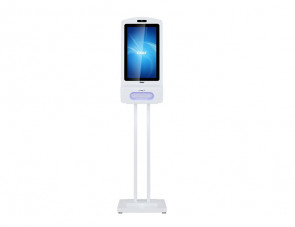 RCS-220SDUTAZ-PCAP - Hand Sanitizer Android LCD Kiosk with 10 Point PCAP Touch