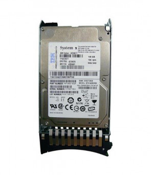 IBM - 42D0677 146GB 15000RPM SAS 6GB/s 2.5-inch Slim Hot Swapable Hard Drive with Tray
