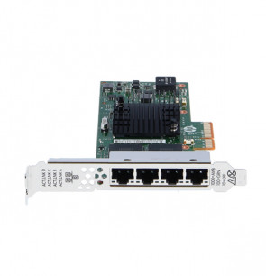 HP - 811546-B21 4-Port 366t Ethernet NIC 4-1GB Ethernet Ports, PCI-Express 2.1 X4