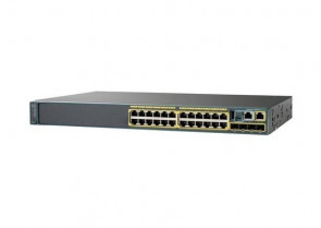 C1-C2960X-24PD-L - Cisco Catalyst 2960-24PD-L 24-Port RJ-45 10/100/1000 + 2 x SFP+ PoE+ Managed Stackable Layer 3 Switch