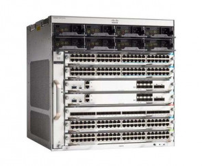 Cisco - C9410R-96U-BNDL-E - Switch Catalyst 9400