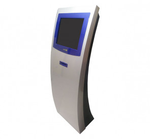 EQ-LK06 - Queue Management Solution Floor Mount with Touch Screen