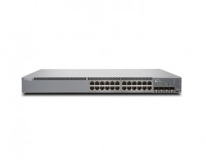 Juniper - EX3400-24T-DC - 24-port PoE+ Ethernet Switch with 4 SFP+ and 2 QSFP+ Uplink Ports