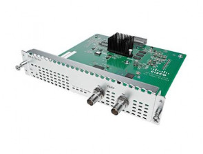 Cisco - 2-Port Gigabit Ethernet WAN Network Interface Module NIM-2GE-CU-SFP