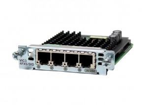 Cisco - VIC2-2E/M Router Voice Interface Card