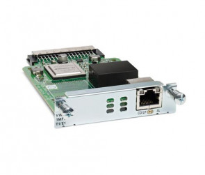 Cisco - VWIC2-1MFT-T1/E1 Router Multiflex Voice/WAN interface Card