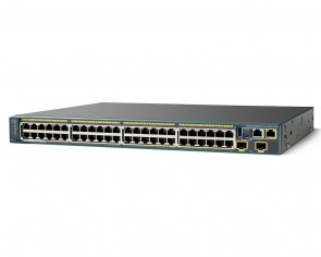 Cisco - WS-C2960S-48LPD-L Catalyst 2960-S Series GE Switch