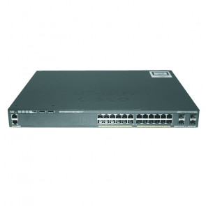 Cisco - WS-C2960X-24PS-L Catalyst 2960-X Switch