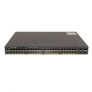 Cisco - WS-C2960X-48LPS-L Catalyst 2960-X Switch
