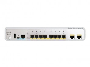 Cisco - WS-C3560CPD-8PT-S Catalyst 3560-C Switch