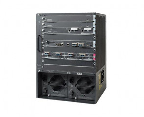 Cisco - WS-C6509-V-E Catalyst 6500 Enhanced 9-slot Chassis (Vertical)